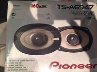 Pioneer speakers 6x9 160w