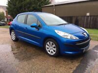 Peugeot 207 1.4 16v 90 ( a/c ) S Blue 5 Door Hatchback Spares or repair