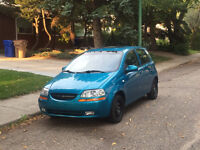 2008 Chevrolet Aveo. Too small - Need gone!