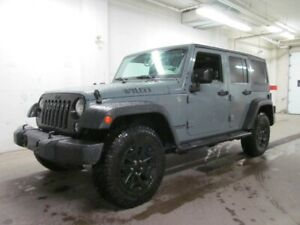 2015 Jeep Wrangler WILLY'S!! Loaded with A/C, power window and m