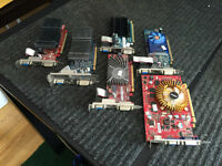 CARTE VIDEO DVI HDMI RADEON MSI ATI ASUS LOW PROFILE
