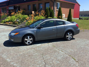 2006 Saturn Ion Quad Coupe   84,328 km WOW !!!