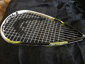 Head Cyano 115 Squash Racquet in next to new condition
