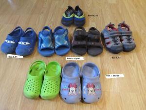 Boy summer shoes