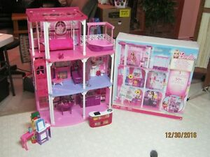 Barbie Dream Townhouse 3 Story Playhouse