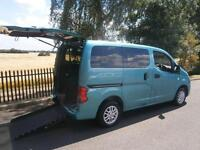 2011 Nissan NV200 1.5 dCi 89 SE 6dr WHEELCHAIR ACCESSIBLE VEHICLE 6 door Whe...