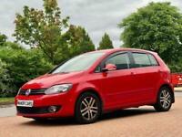2013 62 VW GOLF PLUS 1.6 TDI 5DR HATCHBACK DIESEL MANUAL RED