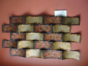 Decorative large wall art hanging accent Like new condition London Ontario image 2