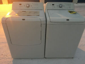 Maytag washer and dryer like new