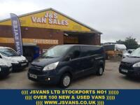 2013 13 FORD TRANSIT CUSTOM 2.2 290 TREND L.W.B SLATE GREY 1 OWNER LOTS IN STOCK