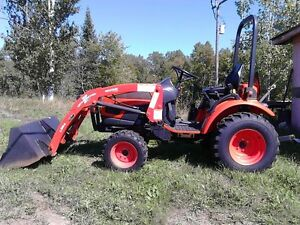 kioti ck20s Hst tractor with loader rear pto under 100 hours