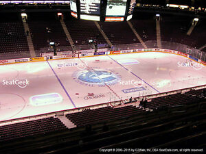 ***VANCOUVER CANUCKS TICKETS***