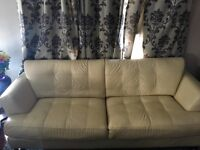 Ivory Leather Couch Cindy Crawford