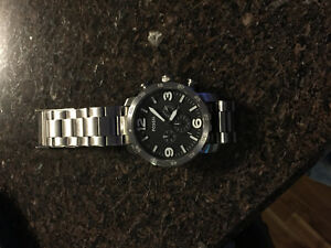 Fossil large face watch