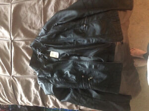 Let Chateau leather coat new with tags