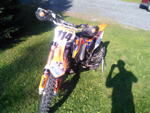 WTT: 2014 ktm 250 sx gncc conversion