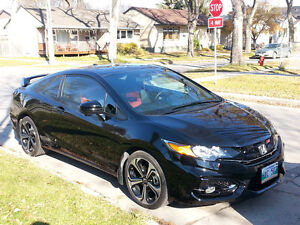2014 Honda Civic Si Coupe (2 door) MINT! Low Km!