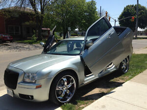 2006 Chrysler 300-Series Sedan with all 4 lambo doors