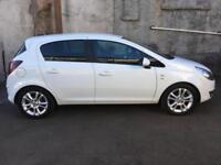 60-Vauxhall Corsa 1.2i 16v ( 85PS ) 2011MY SXi 5-Door White