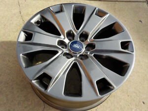 "2017 Ford F150 FX4 Alum.OEM 20"" x 6 bolt x 6 spoke rims no tires"