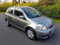 TOYOTA YARIS 1.0 VVT-i COLOUR COLLECTION - 5 DOOR - 2005 ** LOW MILES **