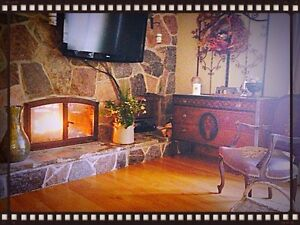 With The Romance Of The Fire/Apt 3Bdrm 1/12 car garage