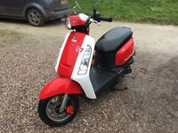 Sym tonic 2016 lovely condition 2000 miles £675 new price £1499