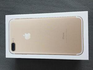 Iphone 7 plus 128 GB gold
