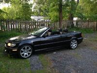 2003 BMW 3-Series Noir Cabriolet