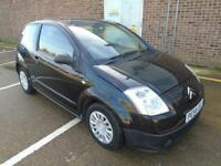 2004 (54) CITROEN C2 1.1 LX PETROL MANUAL BLACK ONLY 30,000 MILES