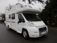 Bessacarr E665 4 Berth 4 Traveling Seats Rear fixed bed Over-cab bed Ref 9027