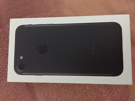 Apple I phone 7 32 gb brand new black urgent sell!