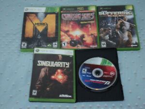 5 Xbox 360/Original Xbox games for $10