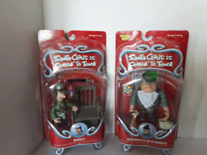 COLLECTABLE SANTA TOY FIGURES