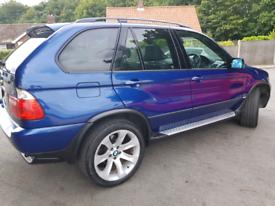 BMW X5 SPORT 3.0L diesel (216BHP) LE MAN BLUE (06)