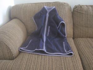 ENZORE -veste mauve sans manche