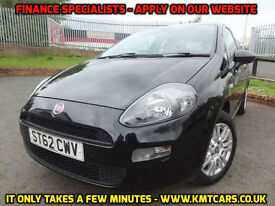 2012 Fiat Punto 1.2 8v (69bhp) Easy One Previous Owner - KMT Cars