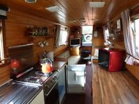 48ft classic live aboard narrowboat