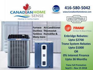 Furnace Air Conditioner Water Heater Trane Rheem Bryant & more