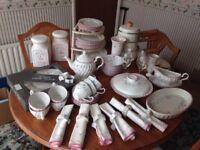 Summer chintz pottery