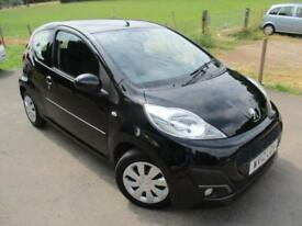 2012 PEUGEOT 107 ACTIVE AIR/CON , ZERO ROADTAX . HATCHBACK PETROL