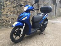 2008 Suzuki sixteen 125cc learner legal 125 cc scooter with MOT. Not PS Pcx Dylan SH.