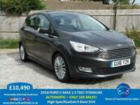 Ford C-Max 1.5 TDCi Titanium Automatic - Only 16k Miles * NOW SOLD *