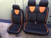 Vw t5 3 seater leather seats
