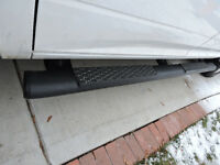 Ram 1500 Crew Cab Running Boards Flat Black