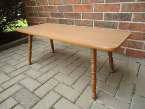 """VINTAGE COFFEE TABLE - 38"""" BY 15"""", 15"""" TALL"""