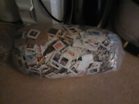huge bag of stamps