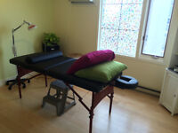 Wolfville Natural Health Clinic Room to rent
