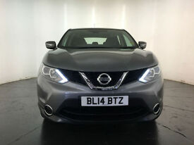 2014 NISSAN QASHQAI ACENTA DCI DIESEL 1 OWNER SERVICE HISTORY FINANCE PX WELCOME