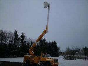 F800 Ford 50ft bucket truck